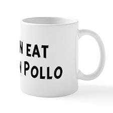 Men eat Arroz Con Pollo Mug