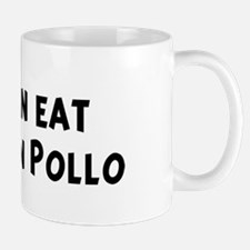 Men eat Arroz Con Pollo Mug
