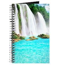 Tropical Waterfall Journal