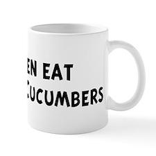 Men eat Armenian Cucumbers Mug