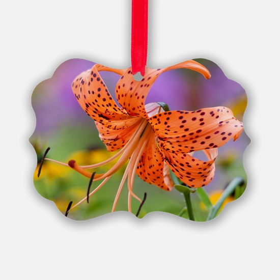 Tiger Lilly Ornament