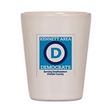Kennett Area Dems Shot Glass