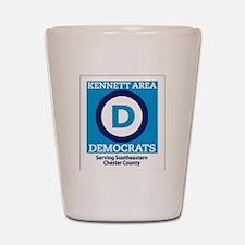 Kennett Area Dems Shot Glass