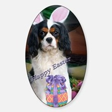 Cavalier King Charles Happy Easter  Decal