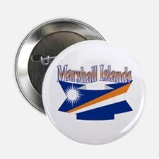 Marshall Islands flag ribbon Button