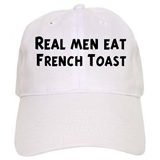 Men eat French Toast Baseball Cap