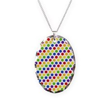 Multi Color Small Polka Dots ( Necklace