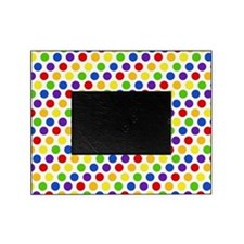 Multi Color Small Polka Dots (2) Picture Frame