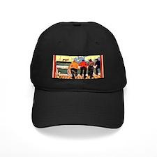 VintageAmericanLineShipsPoster Baseball Hat