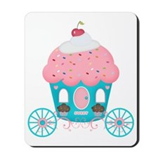 cupcake royal carriage Mousepad
