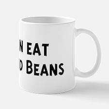 Men eat Franks And Beans Mug
