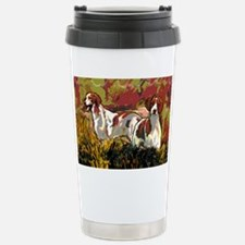Brittany spaniels in th Travel Mug
