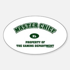 Master Chief Oval Decal