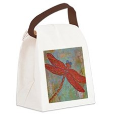 Dragonfly 2 Canvas Lunch Bag
