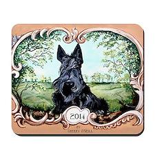Scottish Terrier 2014 Mousepad