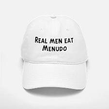 Men eat Menudo Baseball Baseball Cap