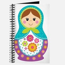 Matryoshka Girl, Blue Journal