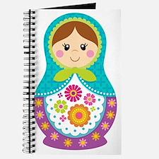 Matryoshka Girl, Blue Journal