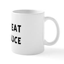 Men eat Tartar Sauce Mug