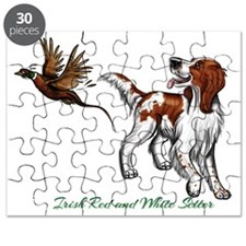 Irish Red and White Setter Puzzle