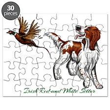 Irish Red and White Setter Puzzle