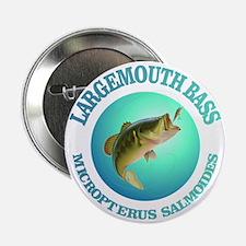 "Largemouth Bass 2.25"" Button"