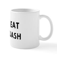 Men eat Acorn Squash Mug