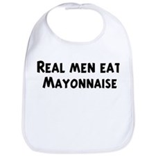 Men eat Mayonnaise Bib