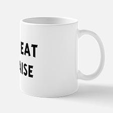 Men eat Mayonnaise Mug