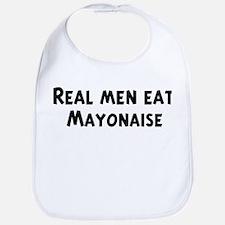 Men eat Mayonaise Bib