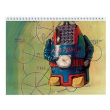 Cute Contemplation Wall Calendar