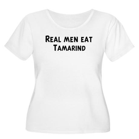Men eat Tamarind Women's Plus Size Scoop Neck T-Sh