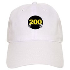 Bench Press 200 lbs Baseball Cap