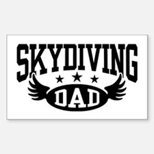 Skydiving Dad Decal
