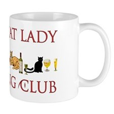 Crazy Cat Lady Drinking Club Mug