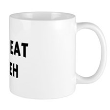 Men eat Tabbouleh Mug