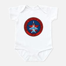 US Navy Fighter Weapons Schoo Infant Bodysuit