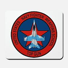 US Navy Fighter Weapons Schoo Mousepad