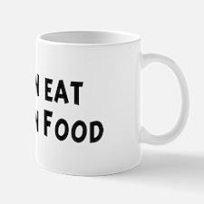 Men eat Malaysian Food Mug
