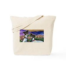 Rat Terrier love Tote Bag