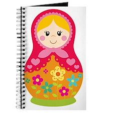 Matroyshka Girl, Pink Journal