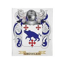 Crowley Coat of Arms Throw Blanket