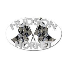 HUDSON HORNET DARK Wall Decal