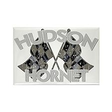 HUDSON HORNET DARK Rectangle Magnet
