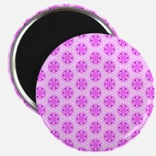 3 Shades of pink flowers Magnet