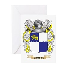 Crufts Coat of Arms Greeting Card