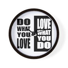 LoveNDo Wall Clock