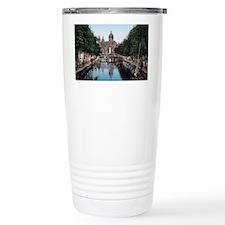 Amsterdam_-_Voorburgwal Travel Mug