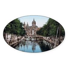 Amsterdam_-_Voorburgwal_en_Nicolaas Decal
