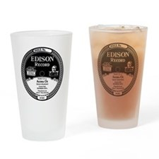 Aloha Oe Edison Record Drinking Glass